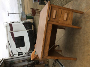 Desk and Lawyers Chair