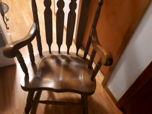 Wooden traditional Rocking Chair
