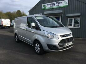 65 2015 Ford Transit Custom Limited L1H1 Van