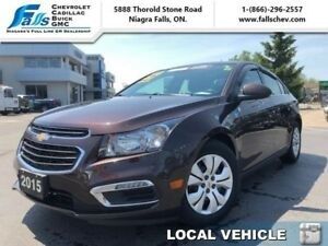2015 Chevrolet Cruze 1LT  REMOTE START,REARCAM,LOCAL TRADE