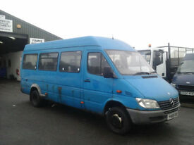 Mercedes-Benz SPRINTER 411 CDI 16 SEATER 99K miles