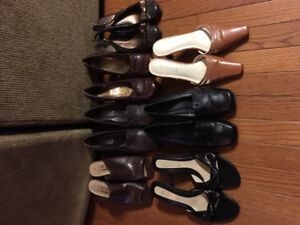 7 pairs of women's size 6/6.5 shoes