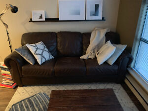 Leather Couch, MOVING fri