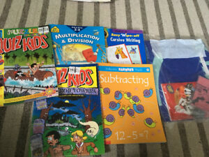 Kids Activity Books and Looney Tunes Kit