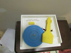 Fisher Price wind up record player and music box London Ontario image 3
