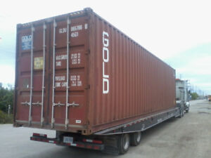Used 20ft & 40ft Steel Shipping Containers for RENT or SALE!!!