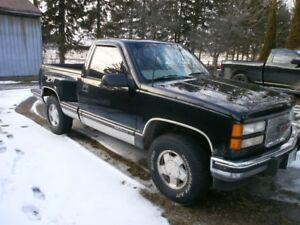 1997 GMC  4x4 pickup truck z-71 off road reg cab