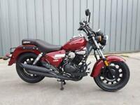 Keeway Superlight 125cc LTD Custom Cruiser Classic Learner legal motorbike