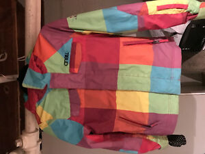 Girls Oneill snowboard jacket, womens  Descante snowpants