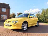 MG ZR 1.4 2003 Yellow 102k Drives Faultless