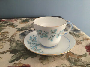 Gladstone Staffordshire china cup and saucer