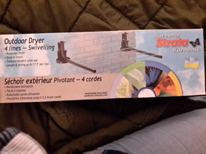 Clothes dryer - wall mounted
