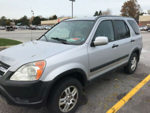 2002 Honda CR-V ORIGINAL OWNER SARNIA CAR