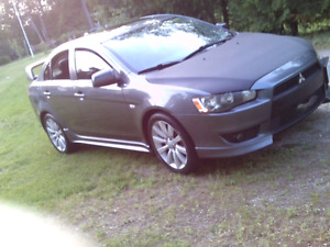 2008 MITSU LANCER GTS SSS 5SPD LEATHER SUNROOF MIVEC etested