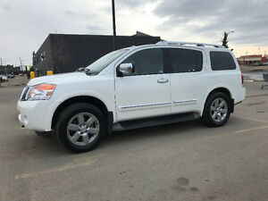 2014 Nissan Armada PLATINUM LOW KM, NAV, DVD, WARRANTY