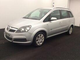 Vauxhall Zafira 1.8 7 seater + LONG MOT + BARGAIN