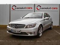 2008 MERCEDES CLC 220 SPORT CDI 2.1TD DIESEL SILVER HIGH SPECIFICATION COUPE