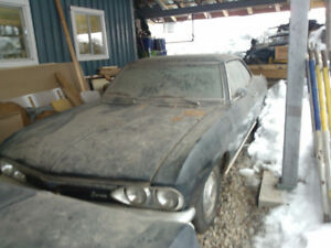 restoreable 66 corvair corsa