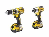 DeWalt DCK259M2TH 18v Brushless Drill & Impact Driver Kit 2 x 4.0Ah