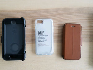 New unused Otterbox cases for Iphone 7 / 8
