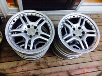 Mercedes Benz mags 17 inch