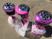 Customised pink self balance electric scooter hover board Segway