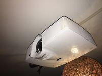 Optoma GT1080 short throw gaming projector with extras