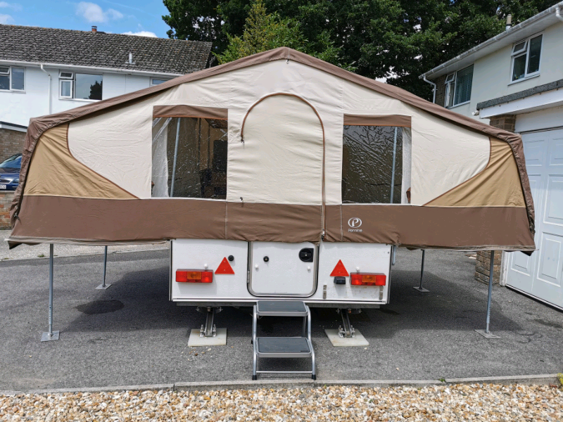 replacing canvas on penine trailer tents
