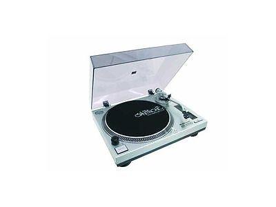 OMNITRONIC DD-2550 USB-Plattenspieler / Turntable silber