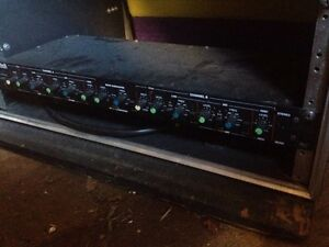 Soundtech x345 active crossover with manual