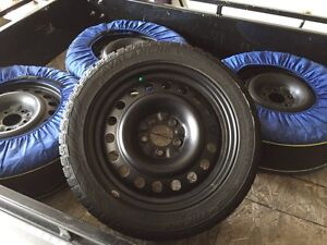 4 Hercules Avalanche Winter Tires (215/50R17)
