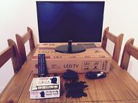 22inch LG LED TV with wall mount