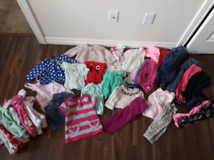 6-12 months clothing lot