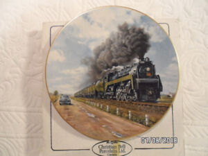 Collector plates - Trains and Dogs
