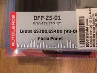 After market Stereo Facia Panel for Lexus
