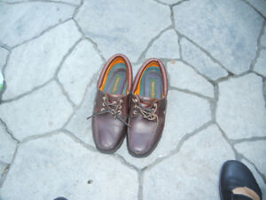 Shoes for Men Brand: Timberland, Genuine Leather Uppers Size: 10
