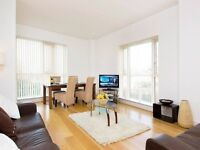 Fantastic and spacious two bedroom flat for let in Canary Wharf, E14.