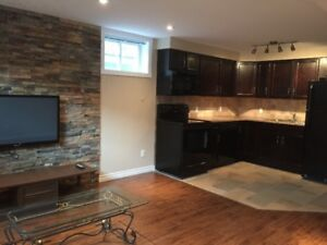 ALL INCLUDED LUXURY LEGAL BASEMENT APARTMENT! AVAILABLE NOV 1st!