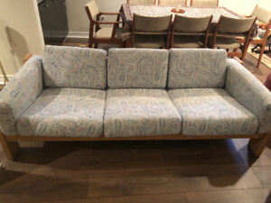 Sofa and two side chairs. Amazing quality.