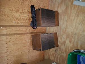 Bose 501 speakers also Sansui SP 3500's