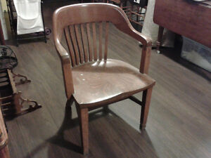 Vintage Captains Chair - really solid wood