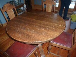 table ronde en chaine maillé
