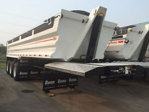 RENN Tri-End Dump Trailer - TA21503 - YEAR END CLEARANCE!