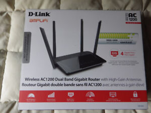 Wireless Router - D-Link Dual Band