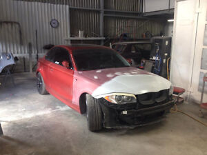 Garage Pro-Mec; Département de carrosserie