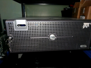Dell R900 4x 6core 128gb ram. With rails