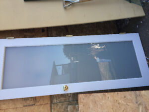 Frosted Glass door for sale - 30 inch