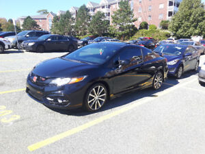 Great Car, 2015 Honda Civic Si, Coupe 2 door, HPF Package