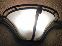 Wall Sconces with 13 W CFL lights