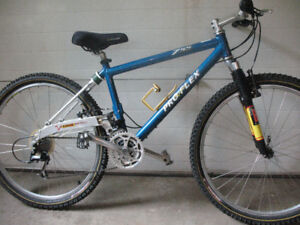 Pro Flex full suspension mountain bike